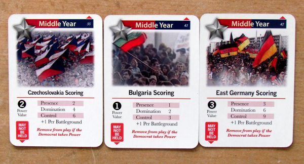 1989: Dawn of Freedom - cards