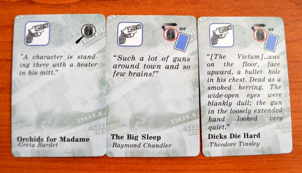 Ace Detective - cards