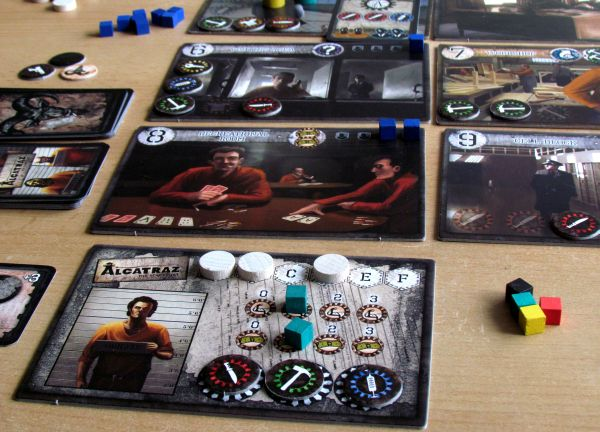 Alcatraz: The Scapegoat - game in progress