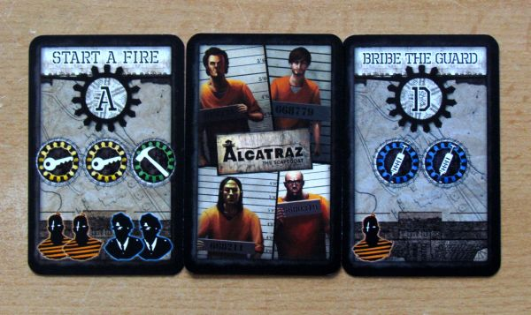 Alcatraz: The Scapegoat - cards
