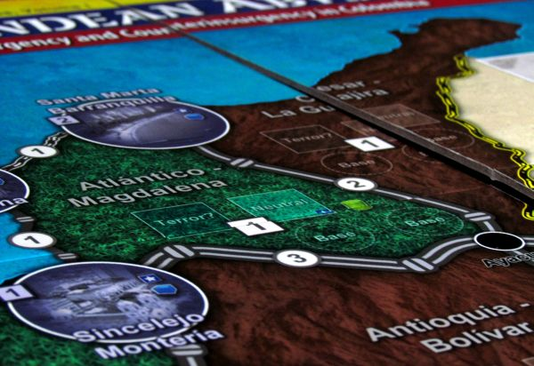 Andean Abyss - game board