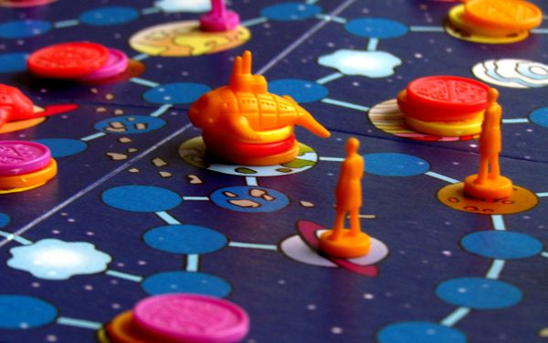 AstroNuts - game in progress