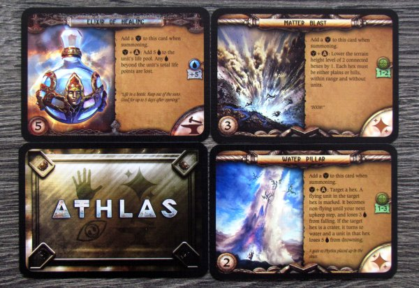 Athlas: Duel for Divinity - cards