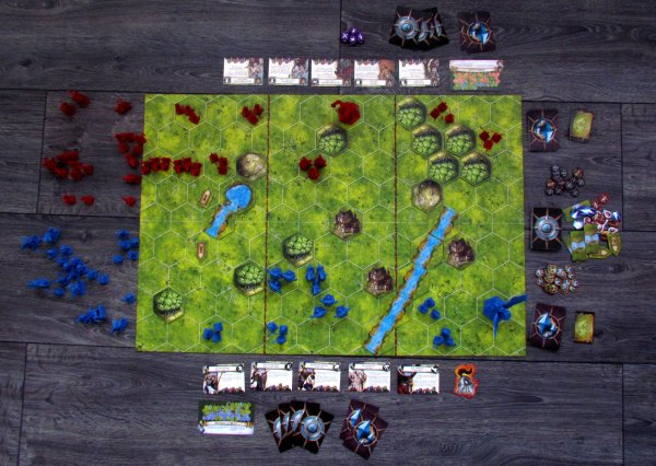 Battlelore: Second Edition - game is ready