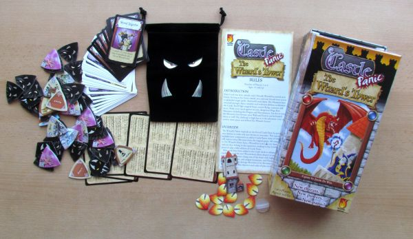 Castle Panic: Wizard's Tower - packaging