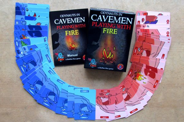 Cavemen: Playing with Fire - packaging