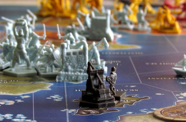 Dungeons & Dragons: Conquest of Nerath - game in progress