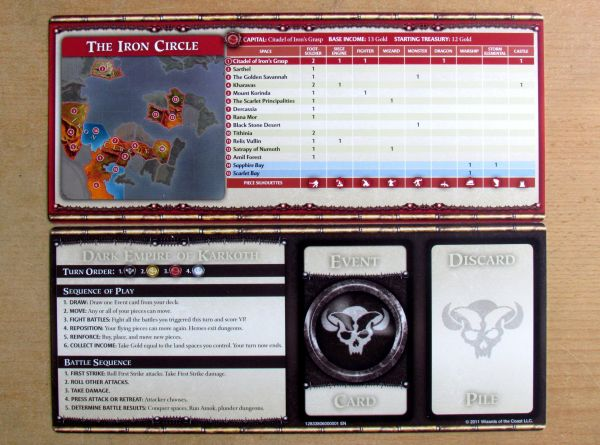 Dungeons & Dragons: Conquest of Nerath - player cards
