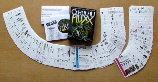 Cthulhu Fluxx - packaging