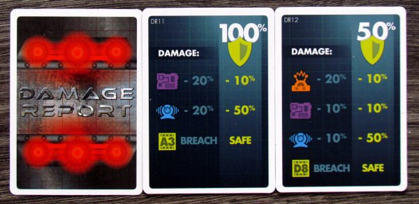 Damage Report - cards