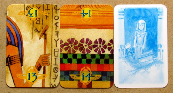 Das Labyrinth des Pharao - cards