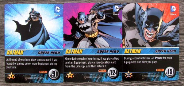 DC Comics Rivals: Batman vs Joker - cards