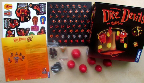 Dice Devils - packaging