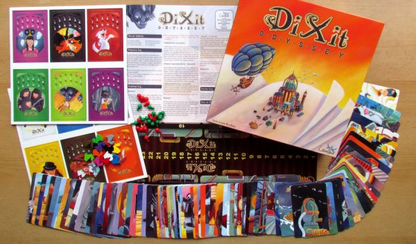 Dixit Odyssey - packaging