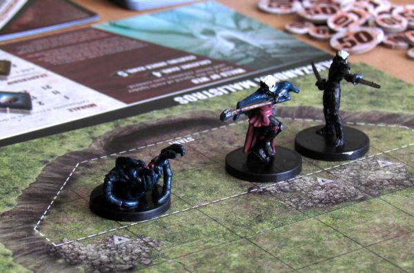 Dungeon Command: Sting of Lolth vs Heart of Cormyr - game is ready