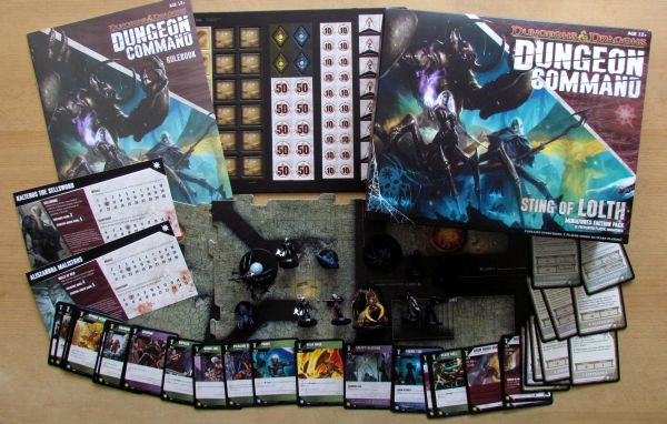 Dungeon Command: Sting of Lolth - packaging