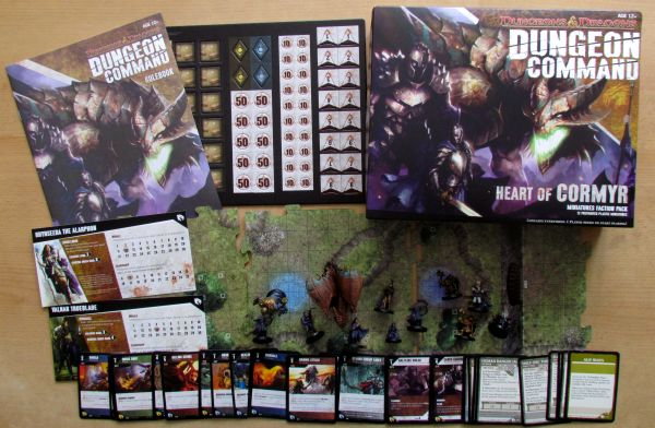 Dungeon Command: Heart of Cormyr - packaging