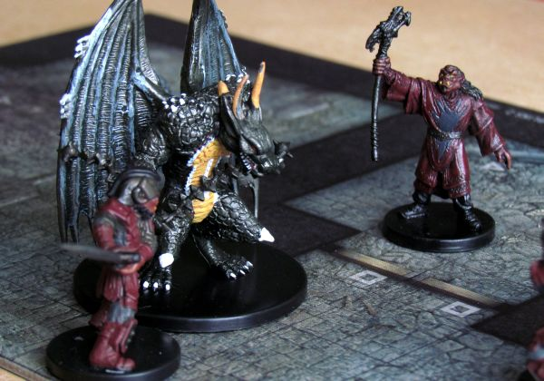 Dungeon Command: Tyranny of Goblins - game in progress