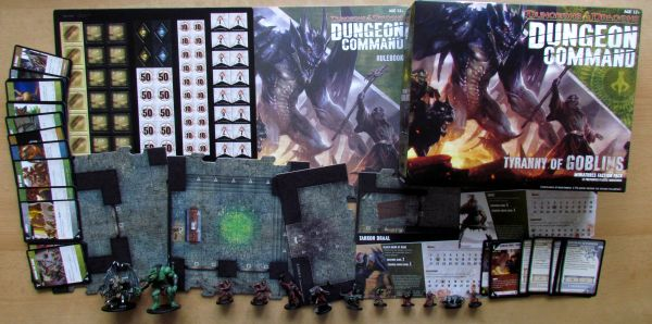 Dungeon Command: Tyranny of Goblins - packaging