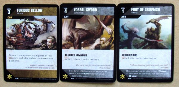 Dungeon Command: Blood of Gruumsh - cards