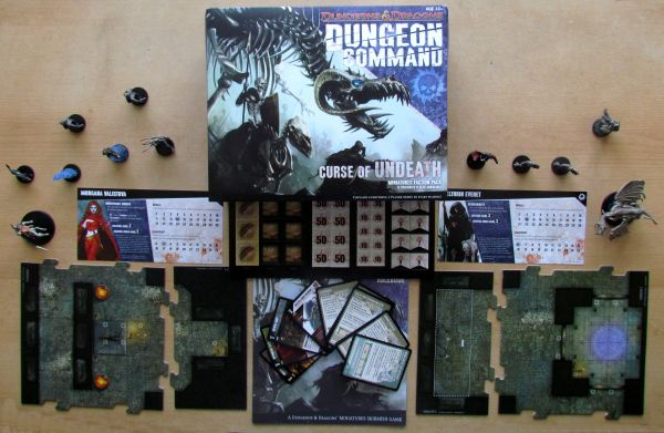 Dungeon Command: Curse of the Undeath - packaging