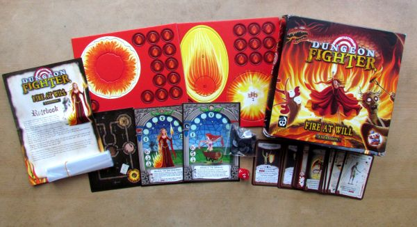 Dungeon Fighter: Fire at Will - packaging