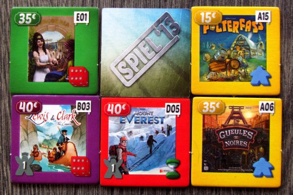 ESSEN The Game: Spiel 13 - tiles
