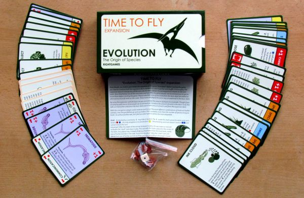 Evolution Origin of Species: Time to Fly - packaging