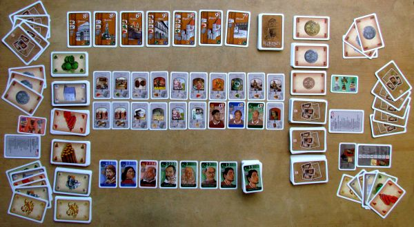 Florenza: The Card Game - game is ready