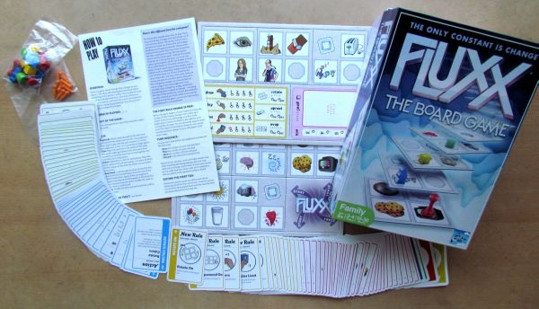 Fluxx: The Board Game - packaging