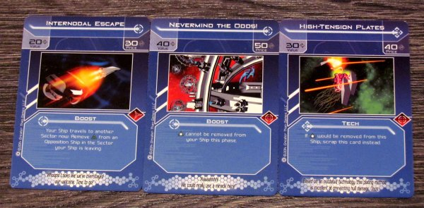 Galactic Strike Force - cards