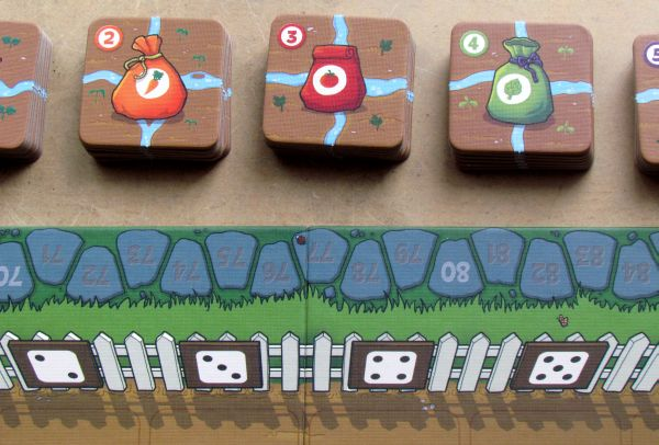 Garden Dice - game is ready