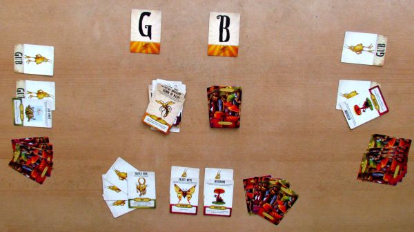 Gubs - game in progress