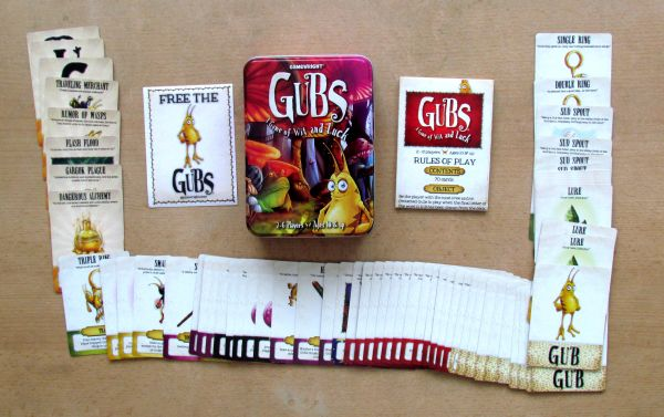 Gubs - packaging