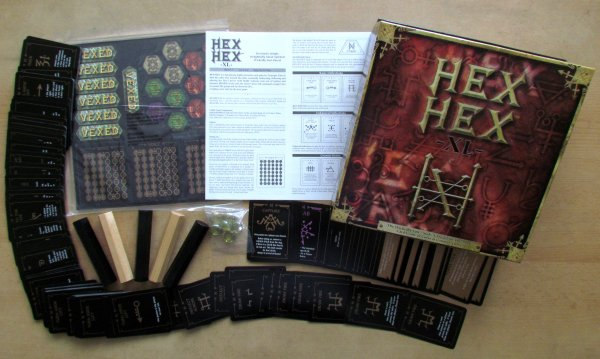 Hex Hex XL - packaging