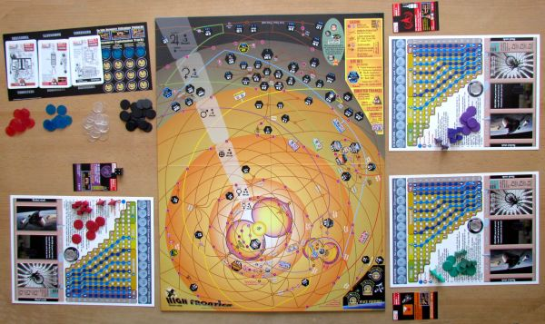 High Frontier - game is ready