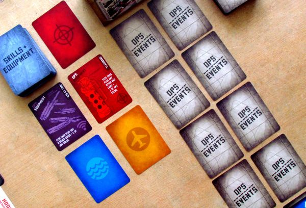 Hooyah: Navy Seals Card Game - game is ready