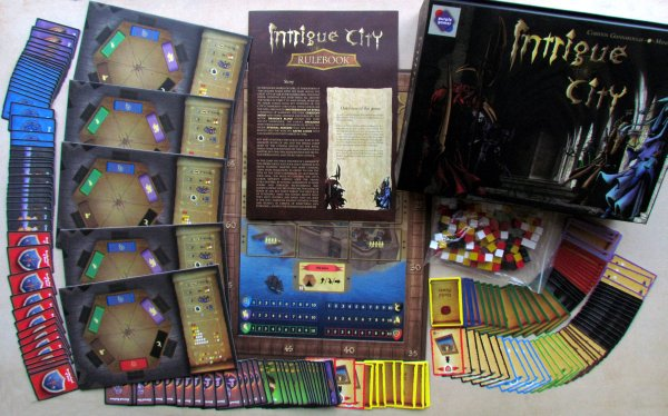 Intrigue City - packaging