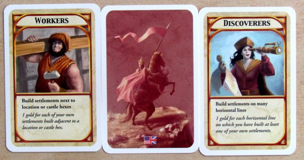 Kingdom Builder - cards