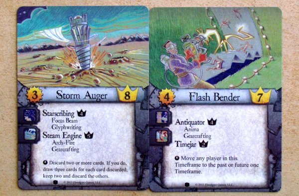 Legacy Gears of Time: Forbidden Machines - cards
