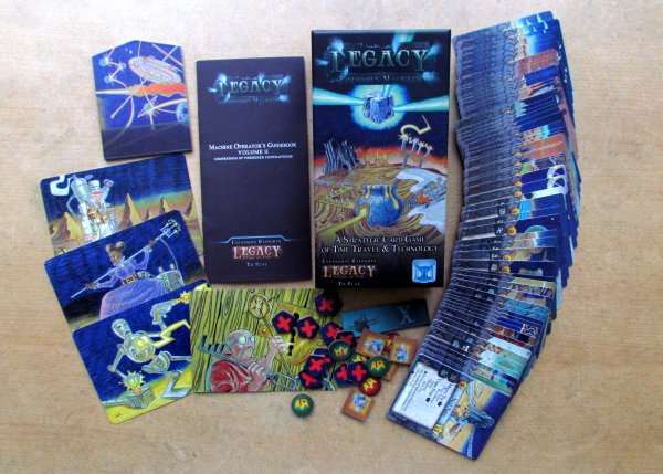 Legacy Gears of Time: Forbidden Machines - packaging