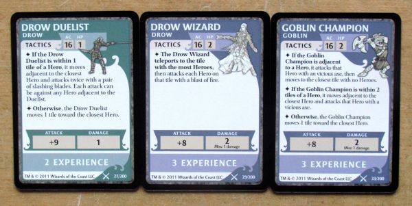 Legend of Drizzt - cards