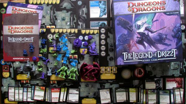 Legend of Drizzt - packaging