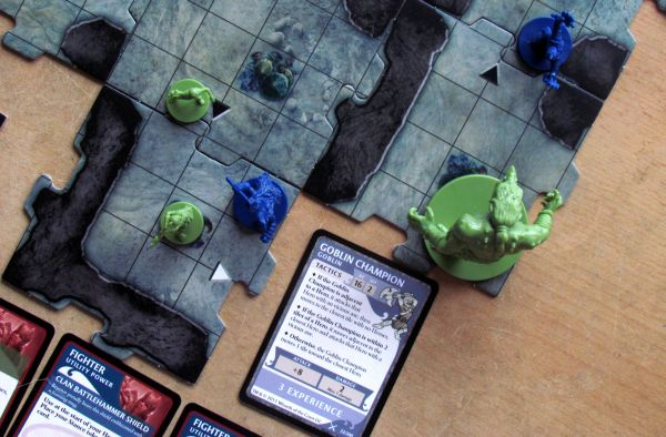 Legend of Drizzt - game in progress
