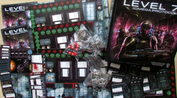 LEVEL 7 [OMEGA PROTOCOL] - packaging