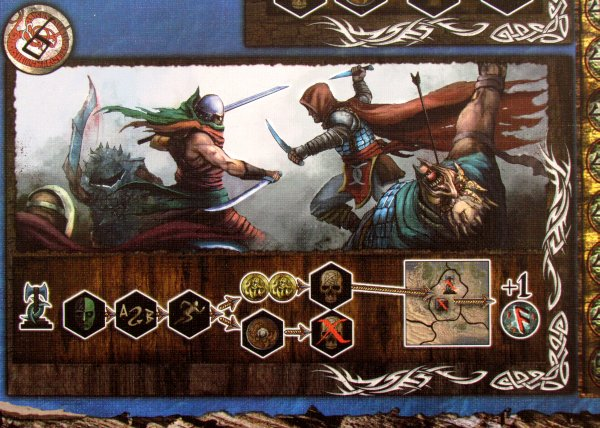 The Lord of the Ice Garden - board detail