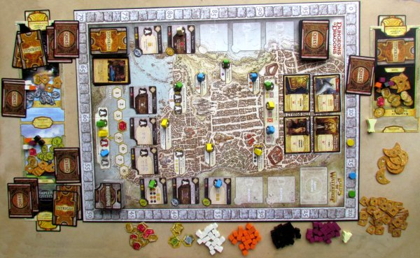 Lords of Waterdeep - game in progress
