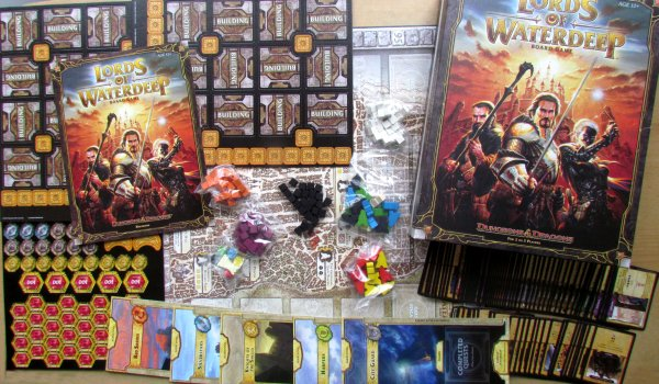 Lords of Waterdeep - packaging