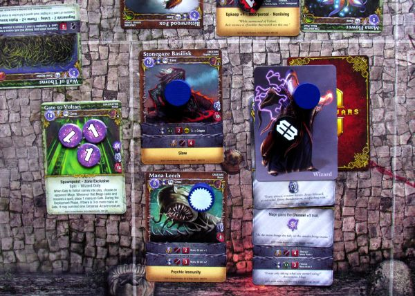 Mage Wars - game in progress