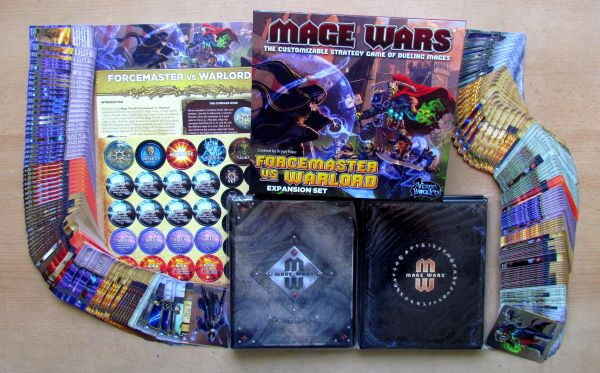 Mage Wars: Forcemaster vs Warlord - packaging
